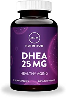 MRM DHEA, Micronized – 25mg, 90 Vegan Capsules