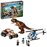 LEGO Jurassic World Carnotaurus Dinosaur Chase 76941 Building Kit; Fun Toy Playset for Creative Kids; New 2021 (240 Pieces)