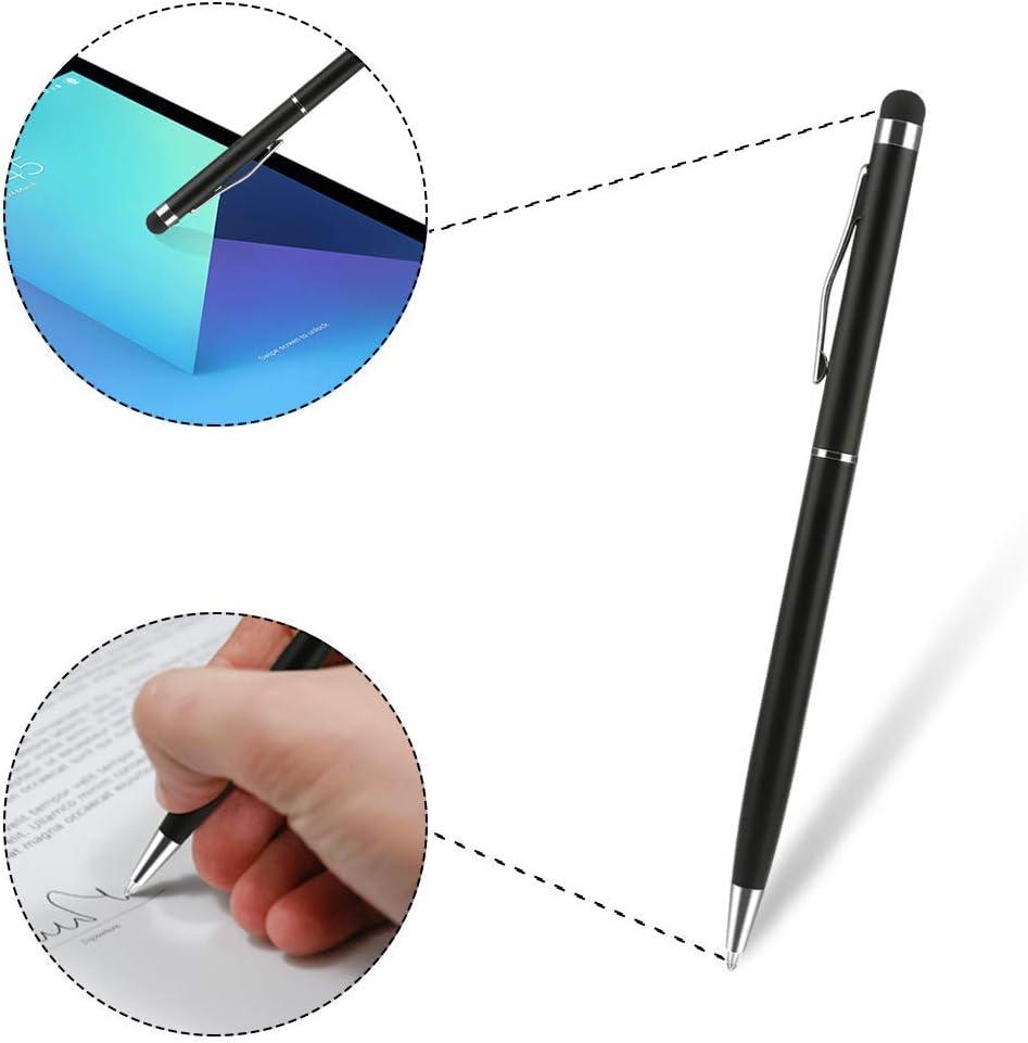 Maoerdo Galaxy A30 / A20 Case,[Send Pen] 3D Cute Animal Earphone Pocket Purse Lanyard [Drop Proof,Shock Proof] Cartoon Gel Rubber Back Cover Case for Samsung Galaxy A30 / A20 - White Dog