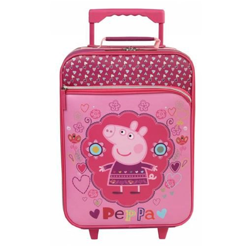 Peppa Pig Valigia trolley bimba 17958