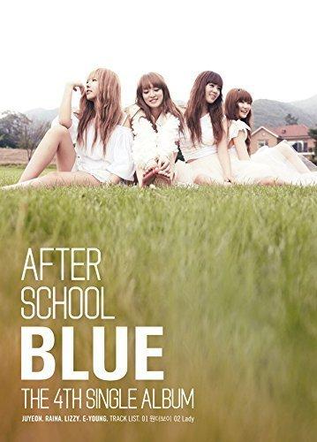 Pledis Entertainment After School - Blue (4Th Single Album) Cd + Photo Booklet + Postcard + Extra Gift Photo