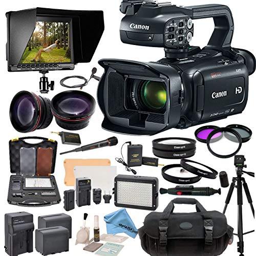 Canon XA11 Compact Full HD Camcorder Advanced Bundle