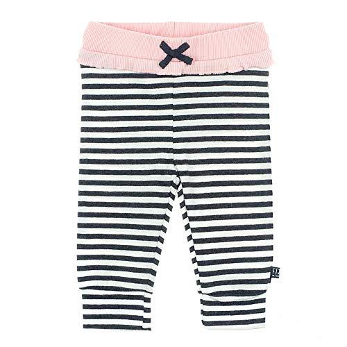 Feetje Pantalon de Jogging ruchés Rayures, Anthracite/Rose