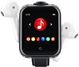 $68 » Music Player with Bluetooth 5.0 MP3 Strap, 1.5 Inch Full Touch Screen HiFi Lossless Sound with Speaker, TF Max 128G,8g