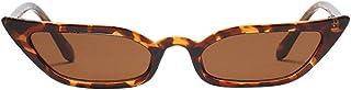 Topgrowth Occhiali da Sole Retro Unisex Bicchieri Per Driver Guida Triangle Donna Occhio di Gatto Vintage Sunglasses Cat E...