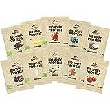 ALPENPOWER | BIO WHEY Protein Probierbox- 10 Sorten | Ohne Zusatzstoffe | 100% natürliche Zutaten | Bio-Milch...