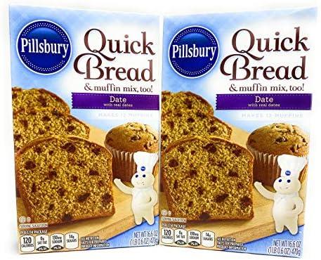 Pillsbury Date Quick Bread 16 6oz 2pks product image