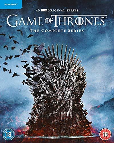 Game Of Thrones: The Complete Series [Edizione: Regno Unito] [Blu-ray]