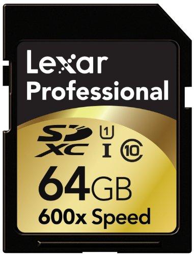 Lexar Professional 600x 256GB SDXC UHS-I Flash Memory Card LSD256CTBNA600