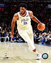 Joel Embiid Philadelphia 76ers 2017-2018 NBA Action Photo (Size: 8