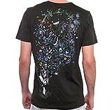 Camiseta psicodélica Estampada Albert Hoffman - Ropa Urbana de diseño en algodón para Hombre, marrón Oscuro, Talla XL
