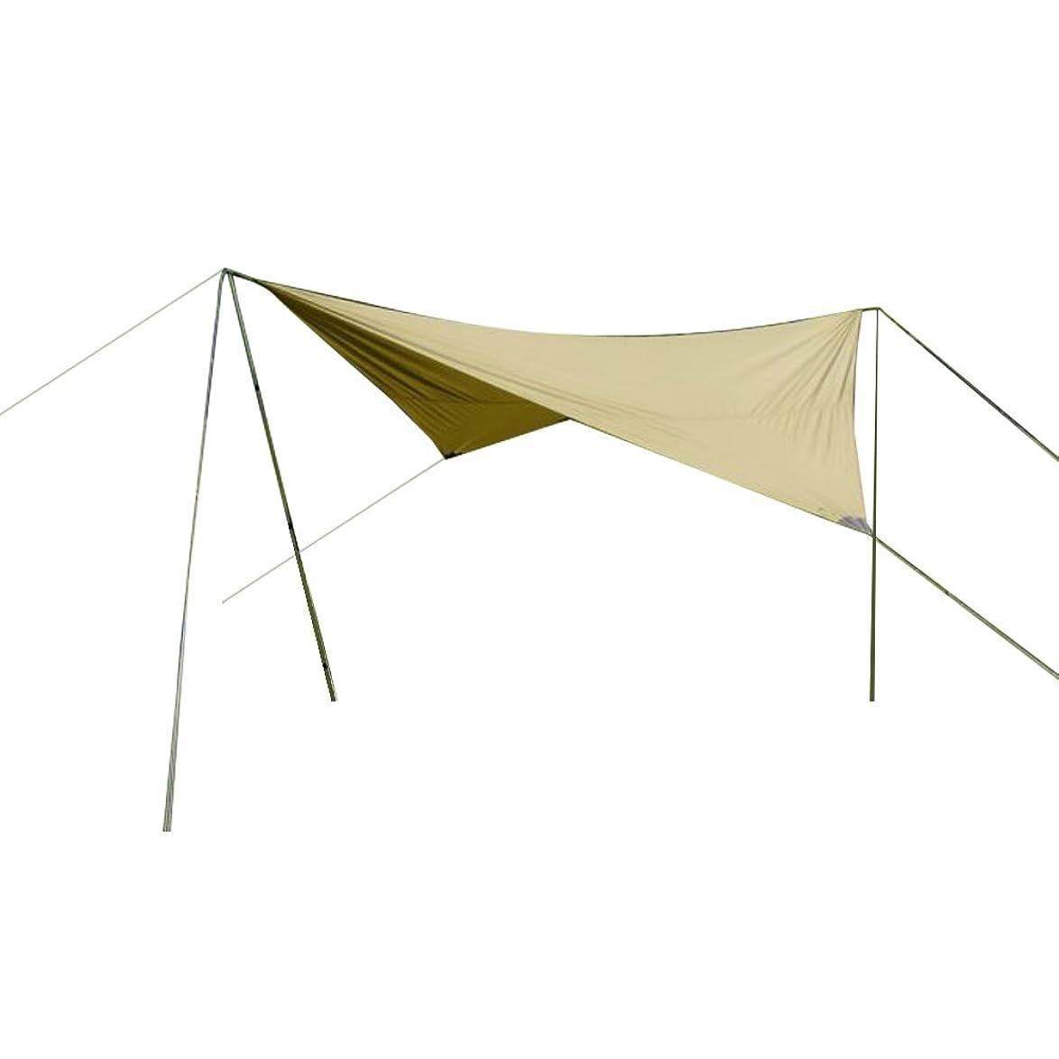 密度図覚えている[ タトンカ ] Tatonka タープ Tarp 3 TC (400×400cm) ヘキサタープ ポリコットン製 防水 遮光 2462 コクーン Cocoon (208) キャンプ アウトドア バーベキュー [並行輸入品]
