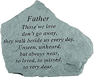 Kay Berry Memorial Stone - Father Those We Love - for Garden, Grave, Memory, Remembrance