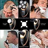 Zoom IMG-1 rasoio elettrico barba uomo impermeabile