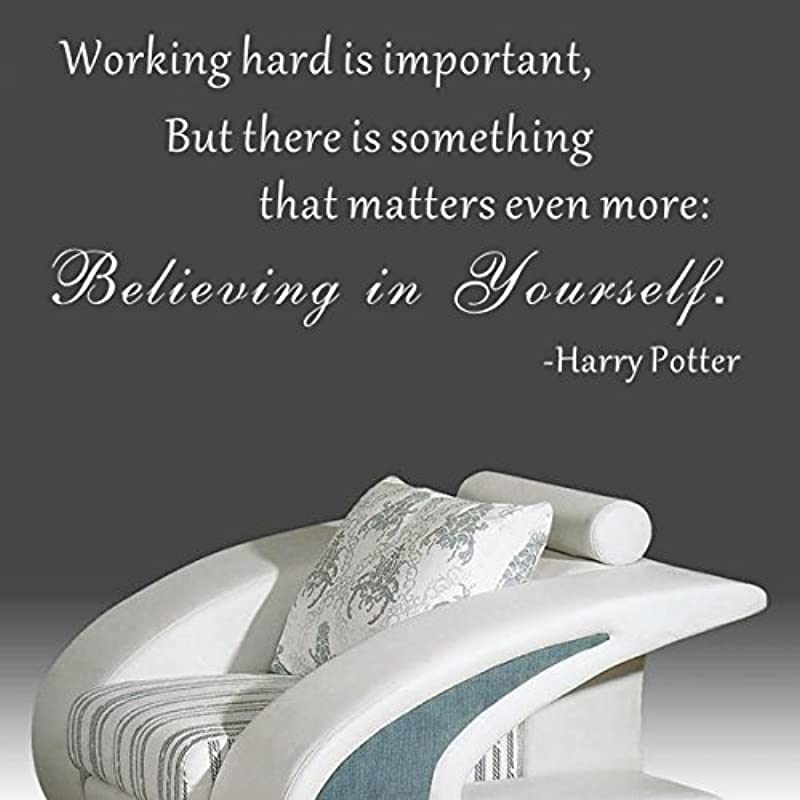 Pop Decors WL 0097 Vb Inspirational Quote Wall Decal Believing In Yourself