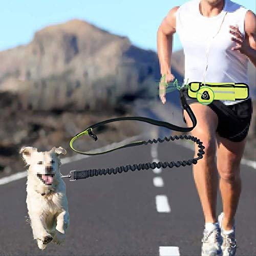 tydv Waterproof Running Jogging Dog Leash Elastic Hand Freely Pet Products Adjustable Waist Belt Traction Lead Leash