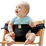 Hochstuhl Baby Sack Gurt Gürtel Safety Seat Gürtel Guard Strap for Baby (3-36 Monat) , black