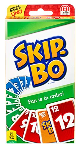 Mattel Skip BO Card Game by
