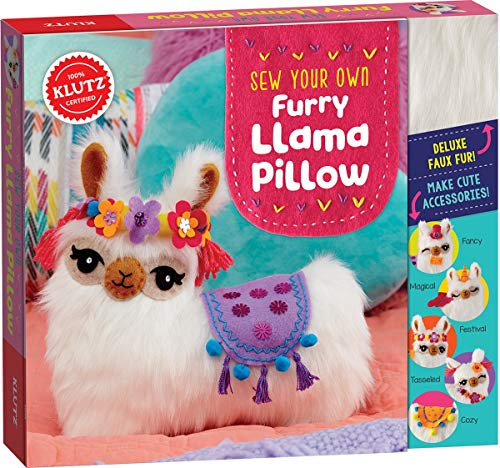 Klutz Sew Your Own Furry Llama Pillow Sewing & Craft Kit JungleDealsBlog.com