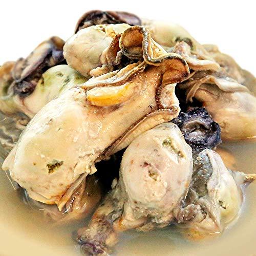 宮城県産カキのみ使用 旨味を閉じ込めた「牡蠣の水煮 缶詰 125g」専用レシピ付き(12缶組)