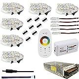 Lijing - Tira de LED (10 m, 20 m, 25 m, 30 m, 12 V, impermeable, 5050 flexible, 300 ledes, 5 m, IP65, cinta de diodos LED