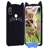 HopMore Compatible with Xiaomi Redmi S2 Case Cover Cute Cat