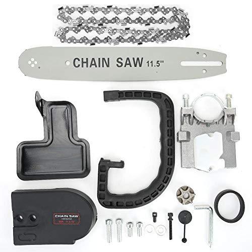 11,5 inch kettingzaagbeugelset, kettingzaagstandaard kettingzaag Refit Kit beugelset houtsnijden voor haakse slijper, tuinaccessoires voor tuinhoutbewerking