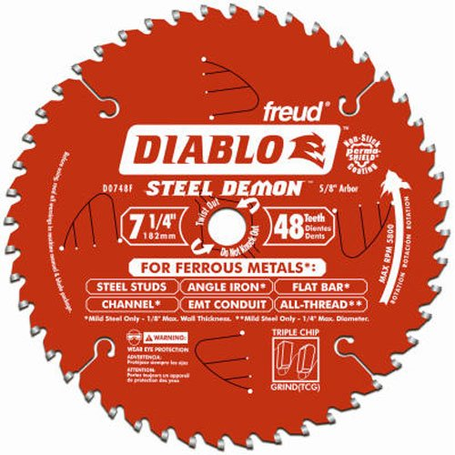 Freud Diablo DO748F Metal Cutting Circular Saw Blade