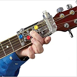 AITOCO Gitarrenakkord Auxiliary Effective Learning System Lehrmittel Tool für alle Altersgruppen