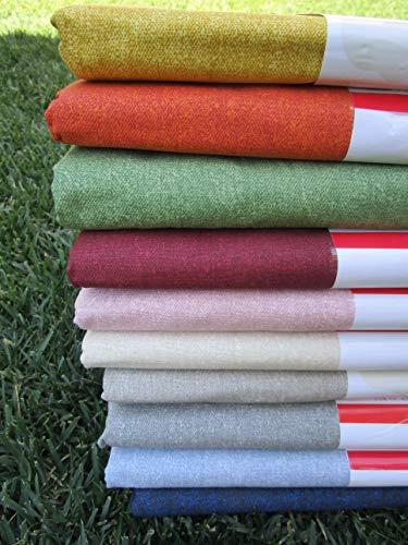 PAGO POCO Mehrzweck-Überwurf, einfarbig, Farbe Grau-Grün, 100 % Baumwolle, für Einzelbett und Doppelbett