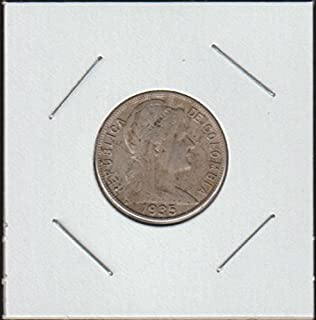 1935 Colombia Liberty Head Right Nickel Choice Fine Details