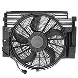 Ventilador de radiador motor radiador motor refrigeración 3 polos para X5 E53 3.0L 4.4L 4.6L 4.8L 2000-2006 64546921940