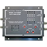 Channel Vision 40dB Bi-Directional RF Amplifier With Return Path Amplification