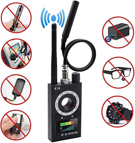 Antispion-Detektor-Wanzen-Detektor Kamera-Sucher RF-Signal-Detektor GPS-Verfolger versteckter Kamera-Detektor-Radar Scanner Radio Frequency Detector for GSM-Tracking-Gerät