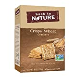 Back to Nature Crackers, Non-GMO Crispy Wheat, 8 Ounce (Packaging May Vary)