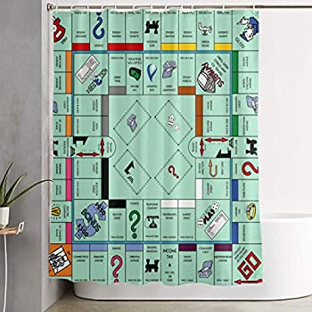 Best monopoly shower curtains Reviews