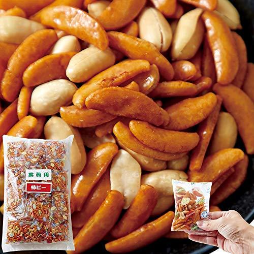 天然生活 業務用 柿ピー 1.2kg(個包装) 柿の種 ピーナッツ おつまみ 国産米使用 メガ盛り