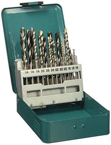 Makita D-59178 18 Pc. Assorted Drill Bit Set