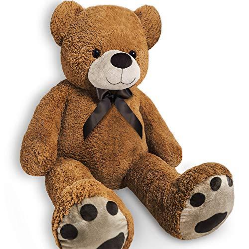 Monzana Teddy | Größe XL 150cm Teddybär Kuscheltier Stofftier Plüschbär Plüschtier