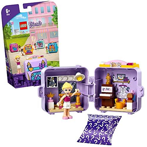 LEGO 41670 Friends Cubo de Bailarina de Stephanie, Juego de Viaje con Mini Muñeca, Juguete de Colección