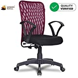 Green Soul Seoul Mid Back Chair (Confident Maroon)