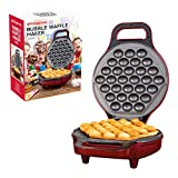 Best Waffle Makers Flips - Global Gizmos 35539 700W Bubble Waffle Maker, Plastic Review