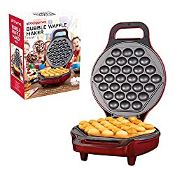 EASY TO BAKE WAFFLES – Make the perfect Hong Kong style bubble waffles and bubble waffle ice cream cones all in a matter of minutes. Flip 180° mid bake to evenly disperse the batter. EASY CLEAN, NON-STICK COATED PLATES – The non-stick cooking plates ...