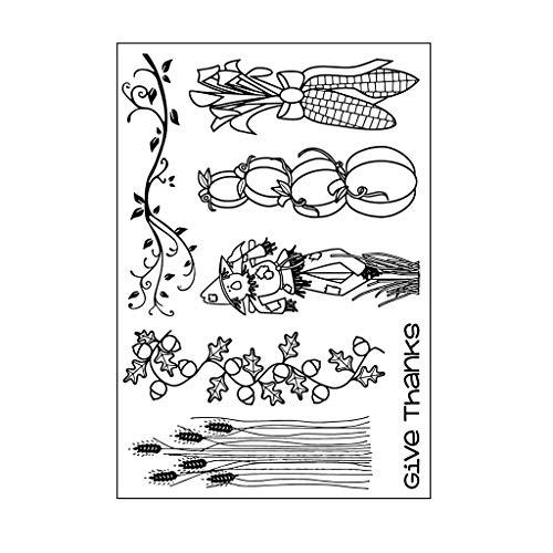 Bogji – vogelverschrikker DIY silicone doorzichtig stempel plakfolie verzamelalbum reliëf album decoratie