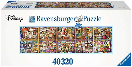 Ravensburger- Mickeys 90. Geburtstag Puzzle 40000 Piezas, Multicolor (1)