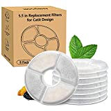 8-Pack Filters for Catit Design Senses Fountains and...