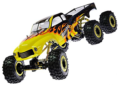 RC Monstertruck Crawler 6 x 6 Climber Rock Fighter Hannibal XXL 104 cm 1:5 HSP 2,4 GHz RTR*