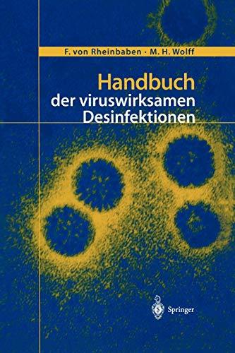 Handbuch der viruswirksamen Desinfektion (German Edition)