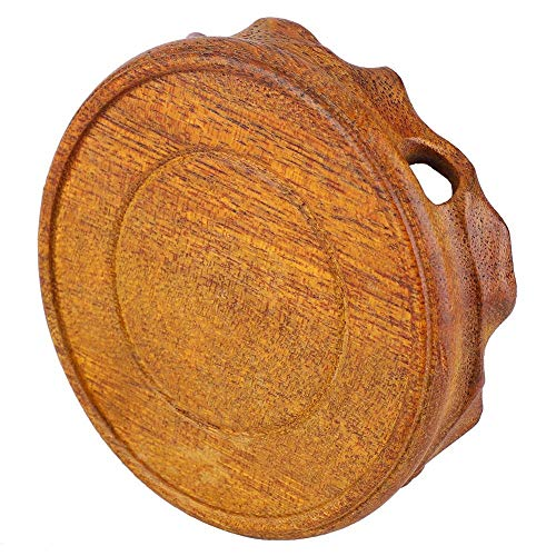 Marhynchus Solid Wood Teapot Base Two Type Bonsai Decoration Pedestal (3.5 inch)(Duckweed Mulberry)