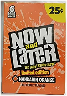 Now & Later Limited Edition Flavor Mandarin Orange 24ct Changemakers